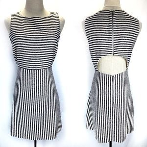 alice + olivia back cut out dress